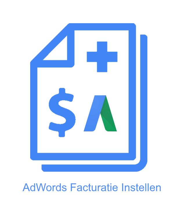 AdWords facturatie instellen