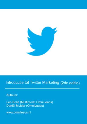 introductie tot Twitter Marketing smaller