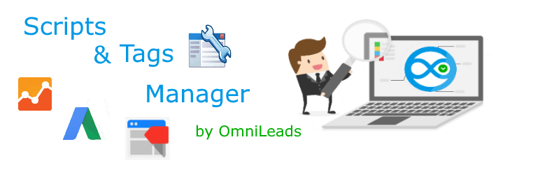 OmniLeads Scripts and Tags Manager