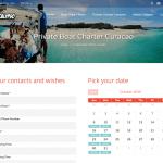 Calyps Calendar widget booked